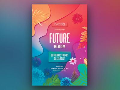 Future Bloom Flyer