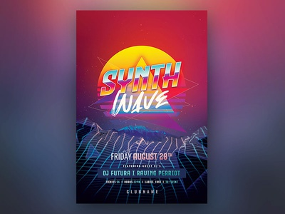 Synthwave Flyer