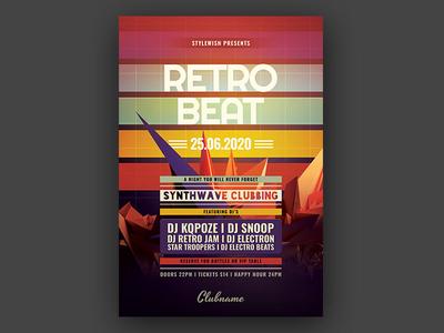 Retro Beat Flyer