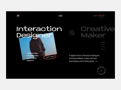 My Portfolio designers interaction design creative  design designer portfolio designer portrait portfolio claw design claw interactive claw studio claw wstyle inspiration ui app ux design