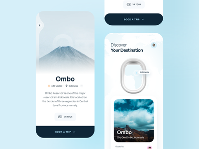🏝 Travel App travel agency ticket booking plane traveling airbnb booking travel app travel claw studio claw interactive typography wstyle mobile app app inspiration ui ux design