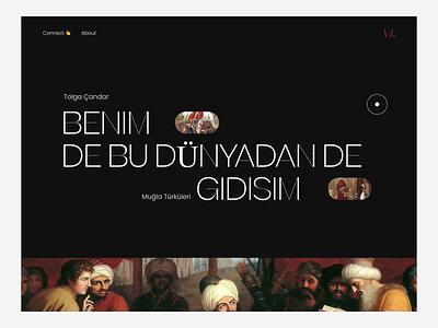 🔊🔥 CVRTON Animation claw interaction 3d typography motion graphics history web sound landing page website animation branding logo illustration wstyle mobile app app inspiration ui ux design