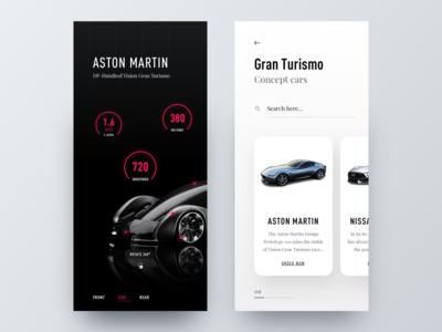 Gran Turismo - App Concept