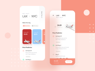 Booking App Experience