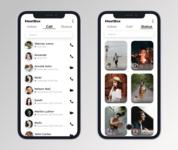 Call & Status App UI/UX Design