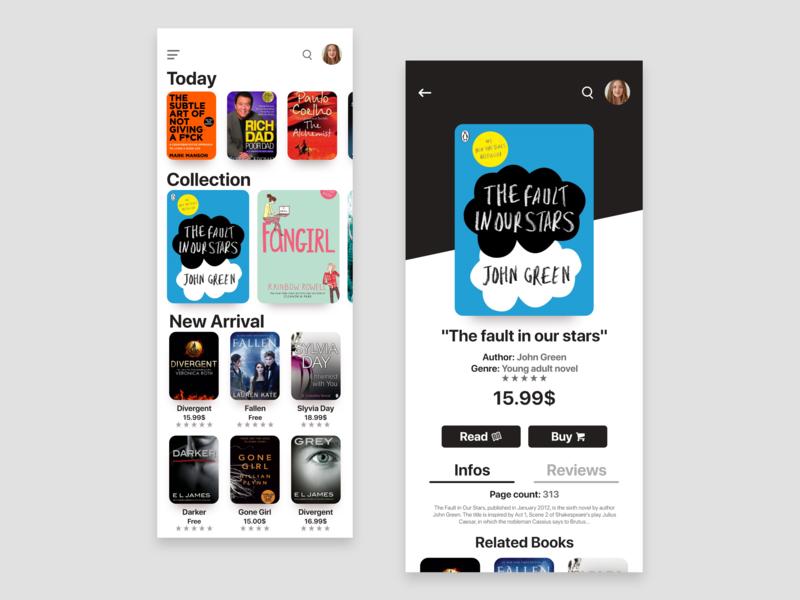 Books App bookshop bookstore bookshelf book app books app books ux iphone mobileapps ios app dribbble uiuxdesign ui  ux design ui uidesign
