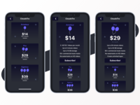 Subscription/Pricing Plan