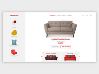 "Product ""Furniture"" Landing Page"
