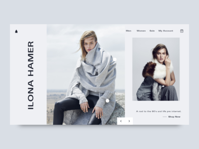 Fashion E-commerce Website Design