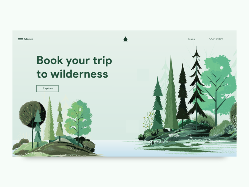 Adventure Trip Booking website icon webdesign web ux app vector uidesign ui typography logo branding layout landing page interface designer design illustration