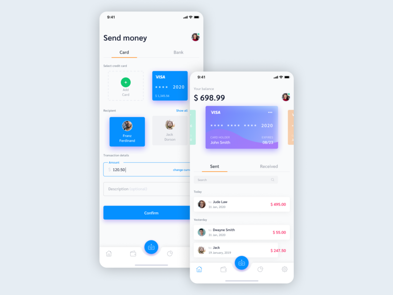 App Payment Screen
