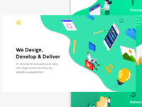 Re-design Concept For Web Design & Development Agency | Sunweb