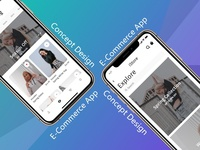 Concept UI/UX Design for Shopping Apps