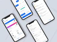 Concept UI/UX Design for On Demand Apps