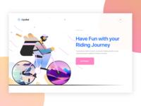 Rider Illustration Design