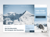Concept UI/UX Design for Travel Blog