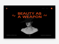 UI/UX Design for Beauty Blog Website
