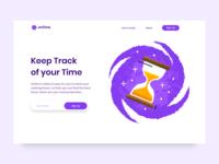 Time Tracking & Management Website UI/UX Design