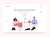 Online Dating Website UI/UX Design Concept