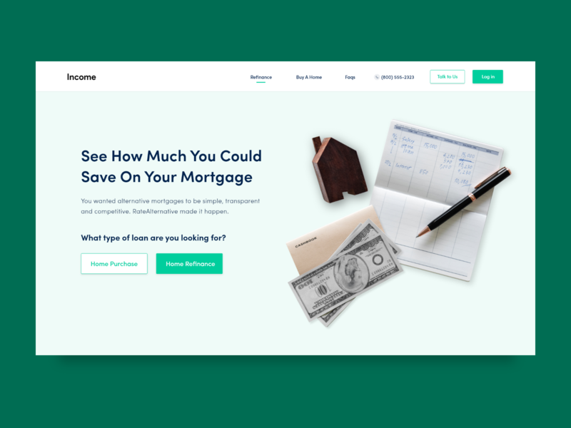 Concept UI/UX Design for Money Management Website website webpage web design webdesign web ux userinterface uiwebdesign uidesign ui typography page minimalistic minimal layout landing page interface designer design clean