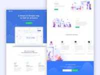 Complete Website UI/UX Design Concept
