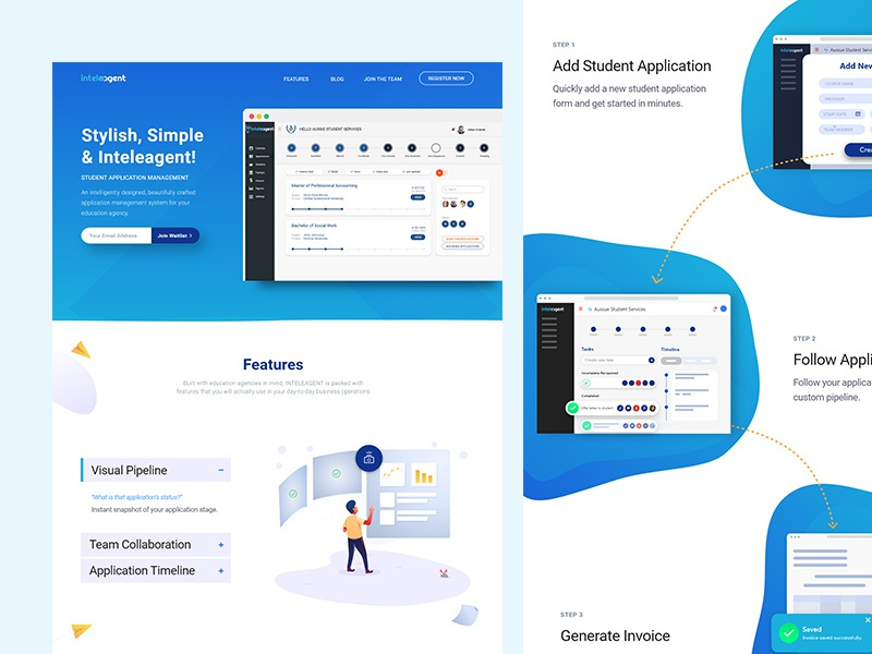 Student Management System Ui Ux Design By Sunweb On Dribbble