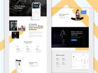 Gym App Solution Design & Development Landing Page