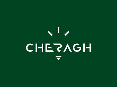 2019 - Branding & Logo Design - Cheragh identitydesign identity design identity brand identity logo design logos logodesign branding design brand design brand bmdx mobin bahrami typography logotypedesign logotype logo job design cheragh branding