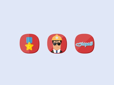 Icon Design for Android Mobile Game ui  ux uiux user interface design user interface userinterface ghahreman game gamification gaming logo gaming app gaminglogo gaming game art game design games game ux ui mobin bahrami bmdx design