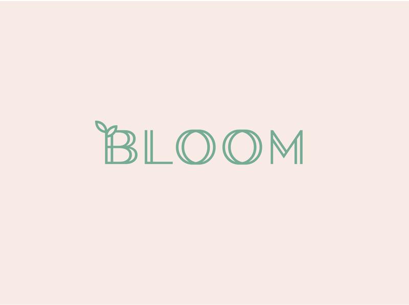 logo - BLOOM logo branding design