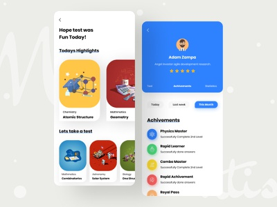 Knowledgify learning app educational app knowledge app design uiux ui learning platfrom learning app mobile uiux mobile ui illustraion typography course education learning ios app app