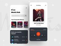 """Music Hub"" App Design"