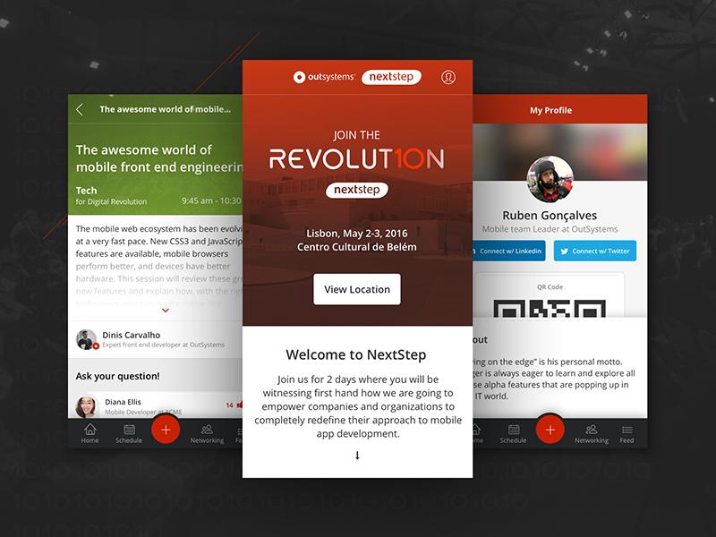 outsystems nextstep app 2016 by s u00e9rgio moreira for