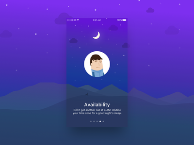 OutSystems Directory - Onboarding illustration color background android ios app mobile directory onboarding