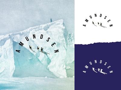Amundsen Logo clothing brand identity logo