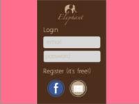Elephant Login Page