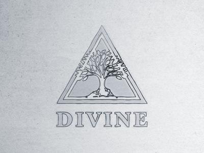 Divine logo concept