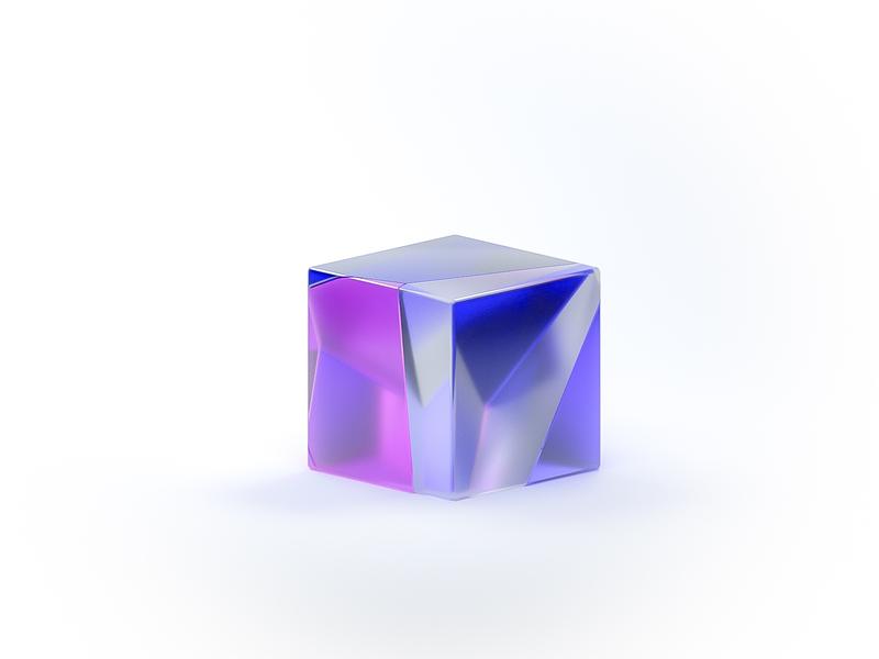 Isometric AI Branding aep cube logo branding ai artificialintelligence