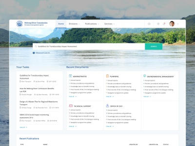 Document Management System concept interface logo photoshop green blue minimal icon clean simple typography color search document management system dms dashbaord web design ui ux design