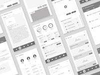 Educative App Wireframe