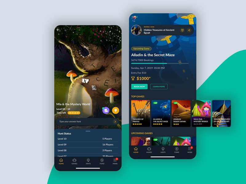 Superb Game App Design By Aufait Ux On Dribbble Home Interior And Landscaping Ologienasavecom