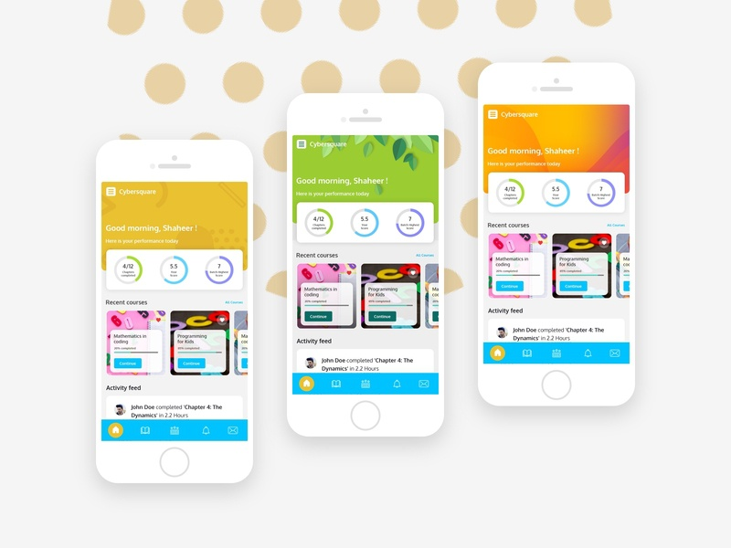 Color Exploration xd photoshop concept ux ui design icon clean minimal simple color colorful kids app mobile design mobile app mobile ui mobile learning app learning kids