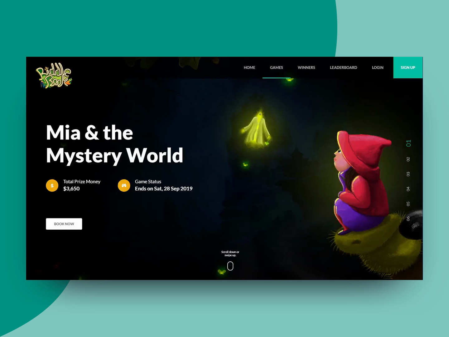 Riddle dribbble 30 8 2019
