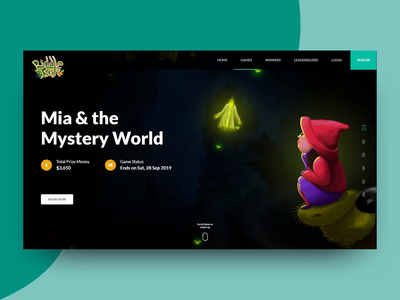 Game page scroll themes game app scroller gradient photoshop concept color simple clean ux design illustration illustrator detail page landing page game design game scrolling scroll animation scroll