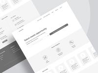 Trainer Website Wireframe