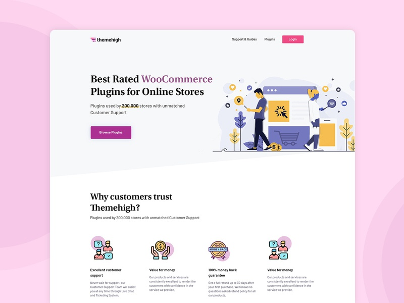 Website Redesign ecommerce app ecommerce design woocommerce ecommerce icon concept color simple ux ui design clean white space minimal website redesign website design website