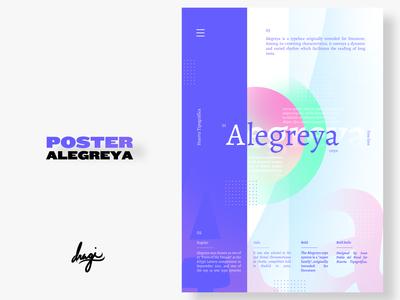 Poster ALEGREYA