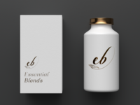 Essential Blends Logo Mockup