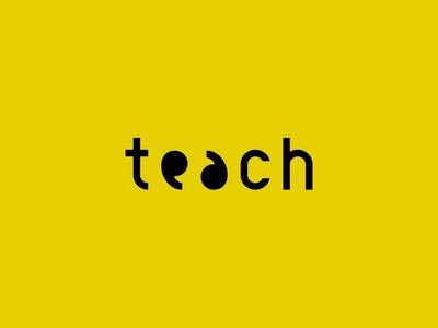 Logo concept and Wordplay on 'Teach'