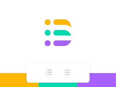 B Logo - Schedule list design brand vector app design launchpad colorful modern app schedule